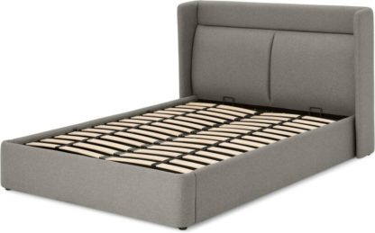 An Image of Langdon King Size Bed, Flavio Grey