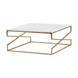 An Image of Alhambra Brass Coffee Table