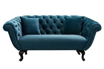 An Image of Ramona Two Seat Sofa - Peacock