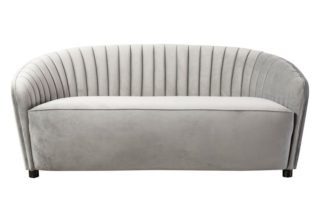 An Image of Alice Two Seat Sofa - Dove Grey