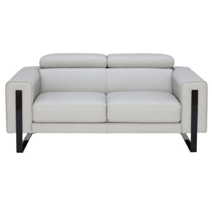 An Image of Milan 2 Seater Sofa, Bull 6502 Leather