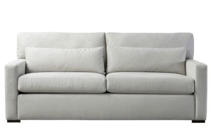 An Image of Slater Three Seat Sofa - Dove Grey