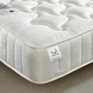 An Image of Neptune Spring Quilted Cotton Fabric Mattress - 4ft Small Double (120 x 190 cm)