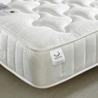 An Image of Neptune Spring Quilted Cotton Fabric Mattress - 4ft6 Double (135 x 190 cm)