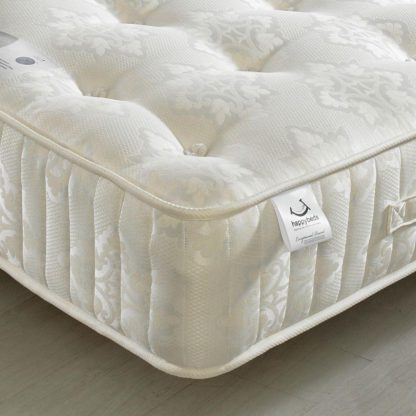 An Image of Berrington 1200 Pocket Sprung Orthopaedic Natural Fillings Mattress - 4ft6 Double (135 x 190 cm)