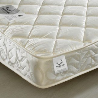 An Image of Eclipse Pocket Sprung 800 Quilted Fabric Mattress - 4ft Small Double (120 x 190 cm)
