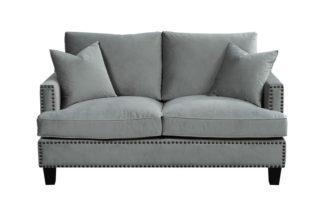 An Image of Brunswick Two Seat Sofa – Dove grey