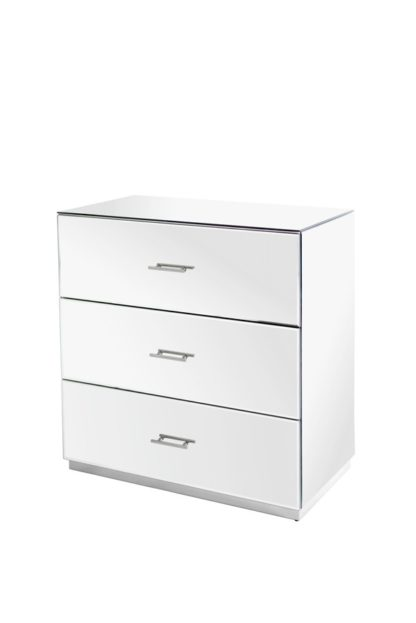 An Image of Harper Chest of Drawers – Silver Details