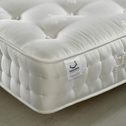 An Image of Signature Gold 1800 Pocket Sprung Orthopaedic Natural Fillings Mattress - 6ft Super King Size (180 x 200 cm)