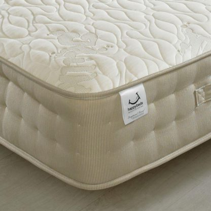 An Image of Milk Vitality 2000 Pocket Sprung Memory, Latex and Reflex Foam Mattress - 4ft6 Double (135 x 190 cm)