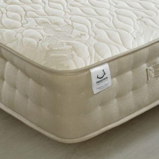 An Image of Milk Vitality 2000 Pocket Sprung Memory, Latex and Reflex Foam Mattress - 5ft King Size (150 x 200 cm)