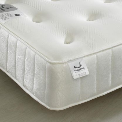 An Image of Maestro Spring Memory Foam Tufted Mattress - 6ft Super King Size (180 x 200 cm)