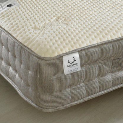 An Image of Bamboo Vitality 2000 Pocket Sprung Memory and Reflex Foam Mattress - 4ft Small Double (120 x 190 cm)