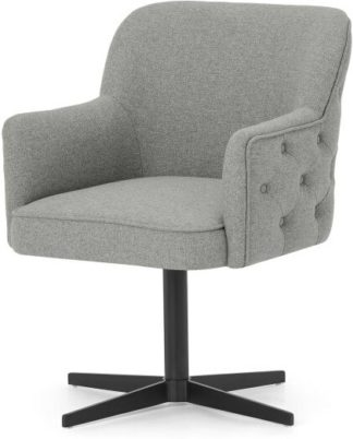 An Image of Upton Office Chair, Mountain Grey & Black