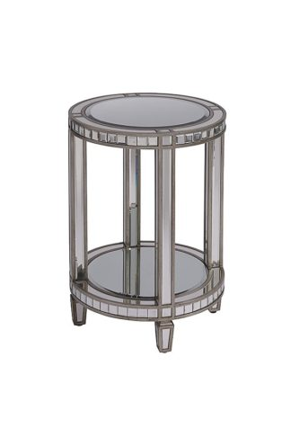An Image of Antoinette Toughened Mirror Side Table