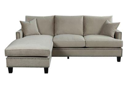 An Image of Brunswick Universal Corner Sofa – Taupe