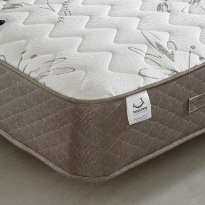 An Image of Stress Free 1500 Pocket Sprung Memory and Reflex Foam Mattress - 4ft Small Double (120 x 190 cm)