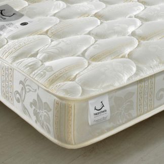 An Image of Star Spring Quilted Fabric Mattress - 4ft6 Double (135 x 190 cm)