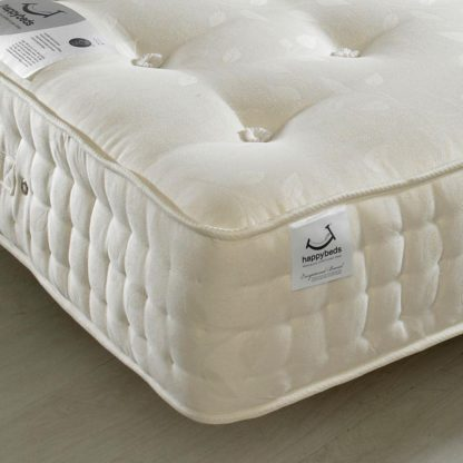 An Image of Jewel 2000 Pocket Sprung Orthopaedic Natural Fillings Mattress - 4ft Small Double (120 x 190 cm)