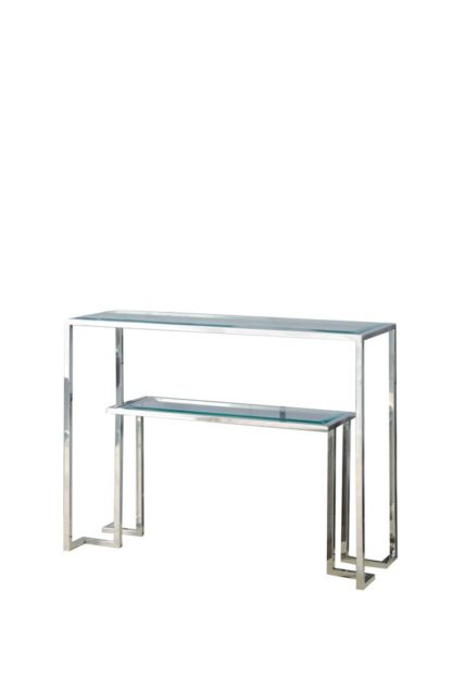 An Image of Anta Silver Console Table