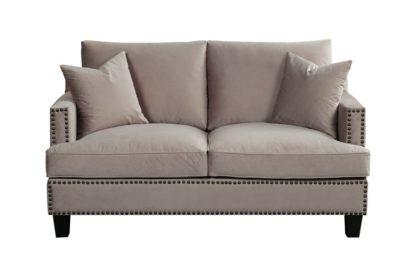 An Image of Brunswick Two Seat Sofa – Taupe