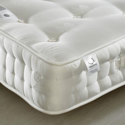 An Image of Signature Platinum 2000 Pocket Sprung Orthopaedic Natural Fillings Mattress - 4ft Small Double (120 x 190 cm)