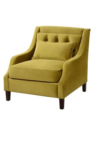 An Image of Zeno Armchair Lime