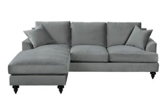 An Image of Harriet Universal Corner Sofa - Dove Grey