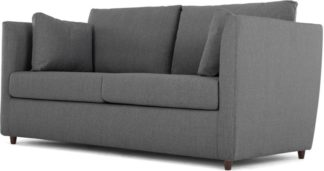An Image of Milner Sofa Bed with Foam Mattress, Night Grey