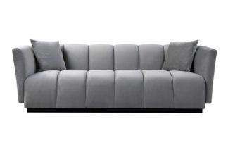 An Image of Herbie Three Seat Sofa - Dove Grey