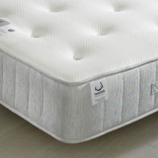 An Image of Pearl Contour Spring Memory Foam Tufted Mattress - 4ft6 Double (135 x 190 cm)