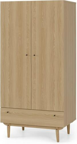 An Image of Asger Wardrobe, Oak Effect