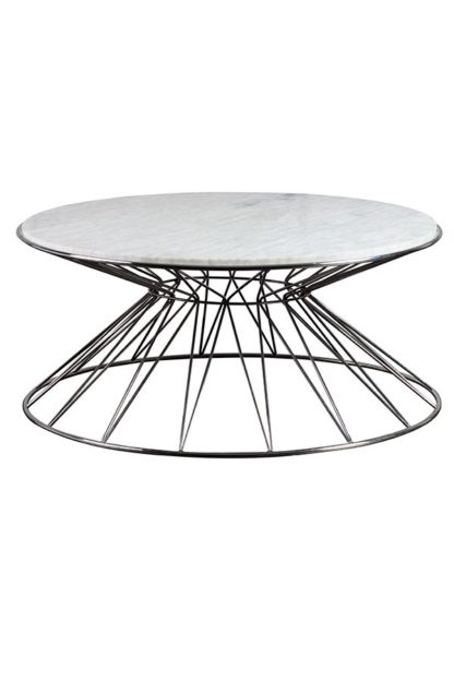 An Image of Mali Silver Coffee Table
