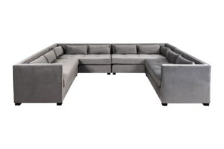 An Image of Berkley Super Lounge Suite - Dove Grey