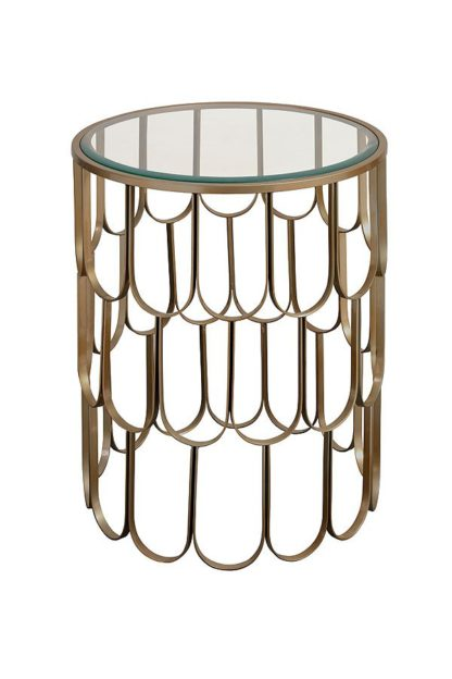 An Image of Pino Brass Side Table