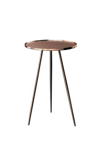 An Image of Panatella Copper Side Table