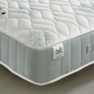 An Image of New Sensation 1200 Pocket Sprung Memory Foam Mattress - 5ft King Size (150 x 200 cm)