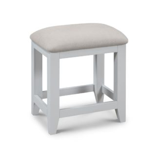 An Image of Richmond Grey and Oak Wooden Stool