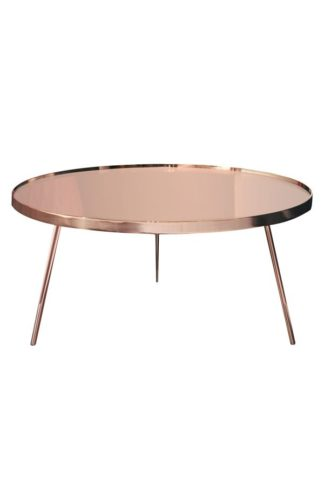 An Image of Panatella Copper Coffee Table