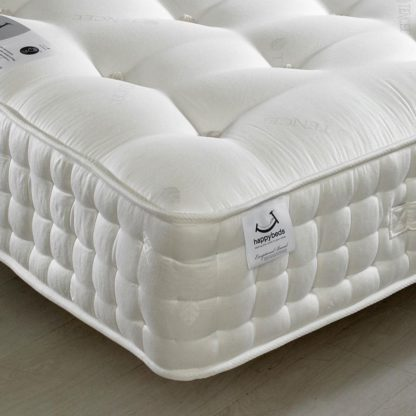 An Image of Tennyson 4000 Twin Pocket Sprung Air Flow Orthopaedic Natural Fillings Mattress - 6ft Super King Size (180 x 200 cm)
