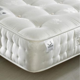 An Image of Signature Silver 1400 Pocket Sprung Orthopaedic Natural Fillings Mattress - 5ft King Size (150 x 200 cm)