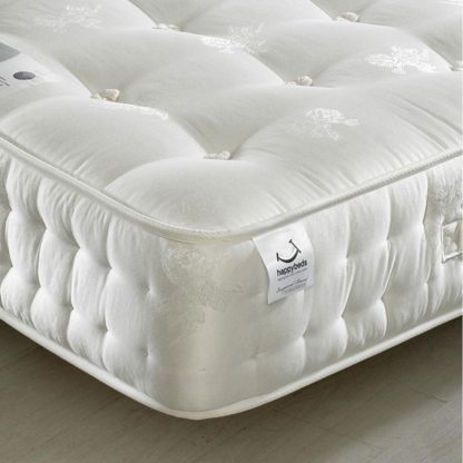 An Image of Signature Silver 1400 Pocket Sprung Orthopaedic Natural Fillings Mattress - 3ft Single (90 x 190 cm)