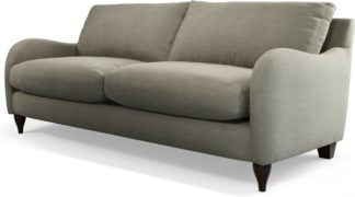 An Image of Custom MADE Sofia 3 Seater Sofa, Athena Putty
