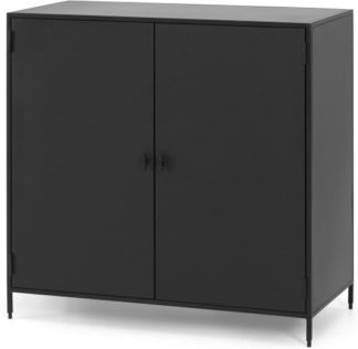 An Image of Solomon Compact Sideboard, Black