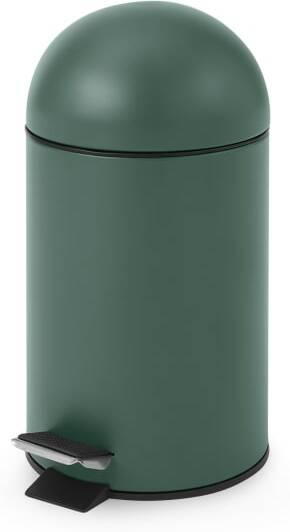 An Image of Joss 3L Pedal Bin, Dark Green