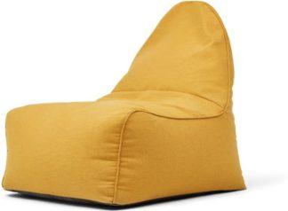 An Image of Ayra Bean Bag Chair, Yolk Yellow