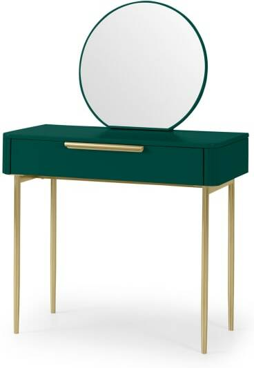 An Image of Ebro Dressing Table, Peacock Green