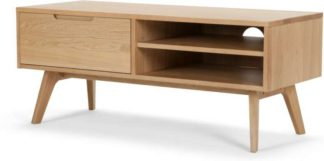 An Image of Jenson TV Stand, Solid Oak