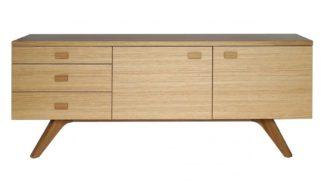An Image of Case Cross Sideboard Oak