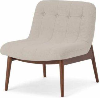 An Image of Halbert Accent Armchair, Oat Weave